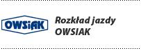 Rozkład jazdy OWSIAK